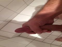 Meine Schwanz Beim Handarbeit und Abspritzen